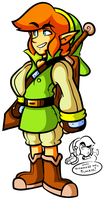 New Young Link Design by JamesmanTheRegenold