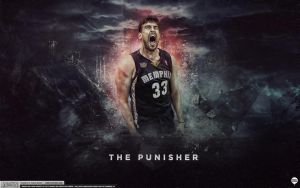 Marc Gasol Wallpaper by IshaanMishra