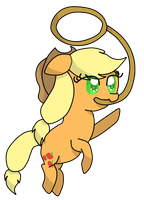 Applejack by Mysticvulpix