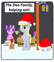 The Doo Family Helping Out by brokenhero0409