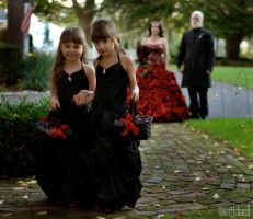 i love halloween weddings by scottchurch