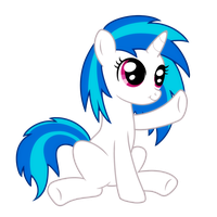 Vinyl Scratch by VanilleCream