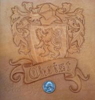 COA Tooling 5 by Blackthornleather