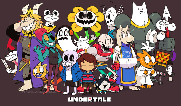 Undertale by Ionic-Isaac