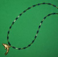 Dolphin necklace by ladytech