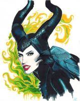 MALEFICENT by aymeezus