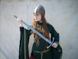 Medieval Green Stock V by DanielleFioreModel