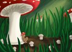 Mushrooms by Schlissel-art