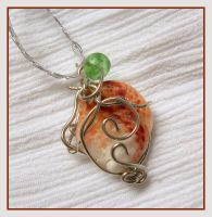 Wild Seashell Pendant - SOLD by balthasarcraft