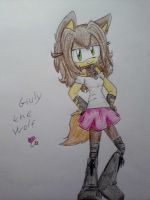 Giuly the Wolf by DesyTheHedgehog
