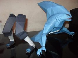 kisame papercraft by MichelCFK
