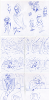 Little red riding hood FAIRYTALE STORYBOARD by Otamie