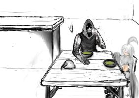 even necromancer eat by pudding88
