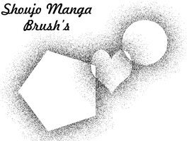 Shoujo Manga Brush by castyressources