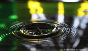 water drop 4 by Photomichael