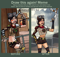 meme before and after 2011-2014 Rage - Loosum by theEyZmaster