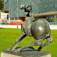 Lugano sculpture 2 by wildplaces