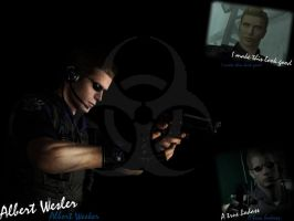 Tribute to Wesker by blazer87