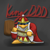 King DeDeDe -fanart- by ProfPhantasius