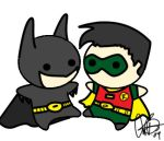Batman and Robin Nubs by MistressMustang