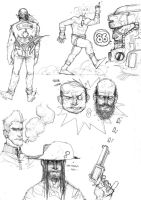 ORIGINAL CHARACTER SKETCH PAGE PT.II by COUNTPAGAN