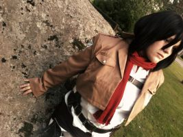 Attack On Titan: Mikasa Ackerman by CosplayDream