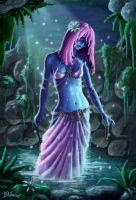 Lagoon Nymph by cleophus