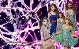 Taylor Swift: Blend Edit Wallpaper by pempengcoswift13