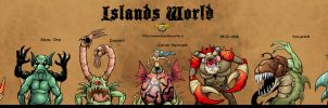 Islands Characters - 3 by Garvals