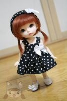Black elegance Dress for Pukifee/LatiY by yotsuba-amai
