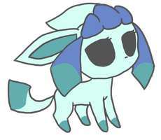 glaceon by queenofdavekat