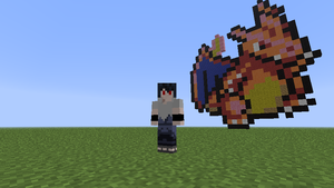 8-bit Charizard Minecraft Pixel art by Xshadowassassinx