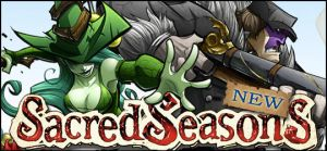 Sacred Seasons Banner by frogbillgo