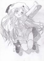 Kudryavka Noumi - Little Busters [ Drawing ] by CaptainMisuzu