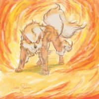 Arcanine by Lare7