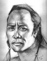 The Rock From Scorpion King by Dana7