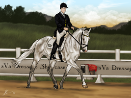 A Dressage Showcase by SageSinRiddle