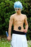 Grimmjow Jaegerjack, jacket-less by BadAssCosplay