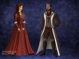 A Tudor Queen and King by themusician93