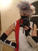 Anbu Kakashi Cosplay by firecasterx2
