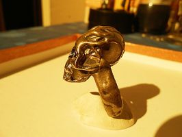 Skull ring final by Chidog