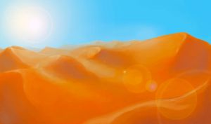 Flash mob_Landscapes_Desert by Stasushka