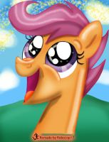 Happy Scootaloo ReMake. by RoboCop17
