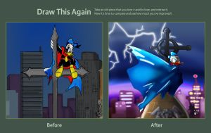 Draw This Again: Duck Avenger by DBguardian
