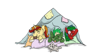 Pillow Blanket Fort by MysteryMint