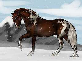 Winter Wonderland (Art Bid) by kryptooxx