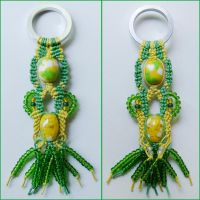 Green and Yellow Charm by borysbrytva