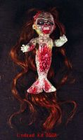 Rot Tot Zombie Mermaid OOak by Undead-Art