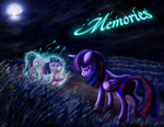 Memories Fan Fiction Cover Art by Caisius