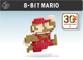 8-Bit Mario Smash Style+30th anniversary by Nibroc-Rock